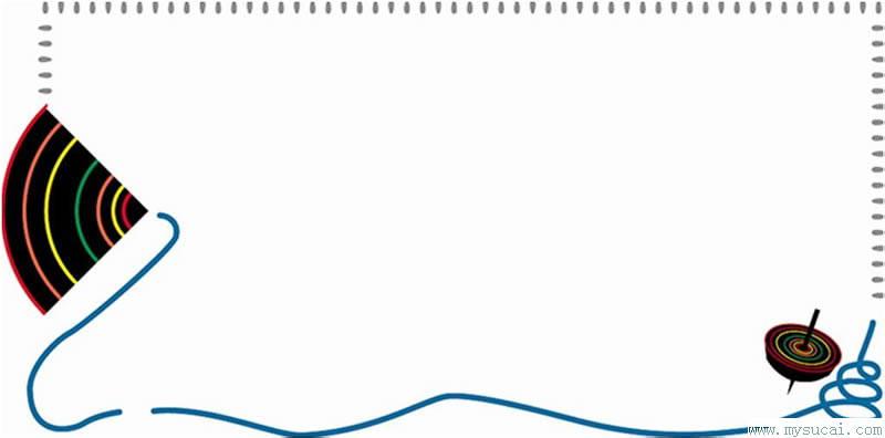 公告栏边框——淘宝装修素材——赢得网