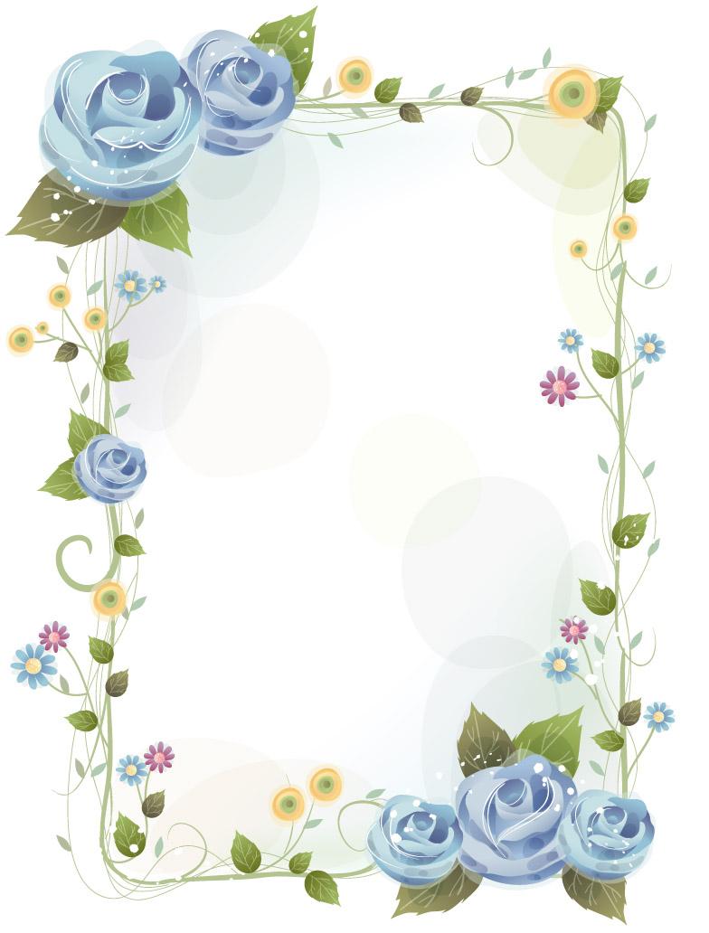 可以用来做装饰,边框, 花朵素材2 淘宝装修