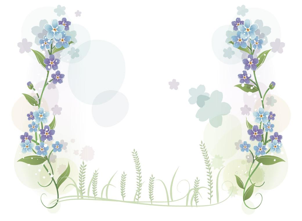 可以用来做装饰,边框, 花朵素材——淘宝装修素材——