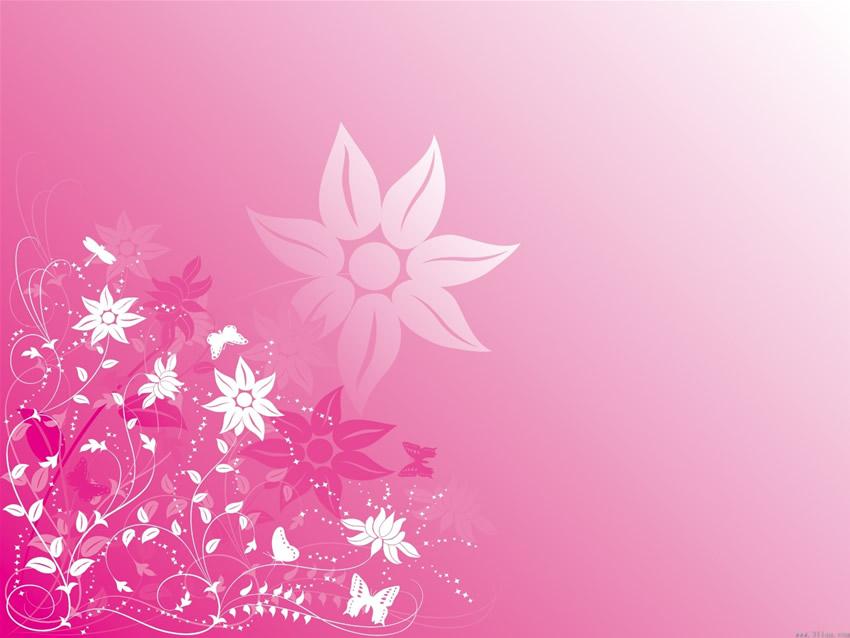 淡粉色小清新背景素材