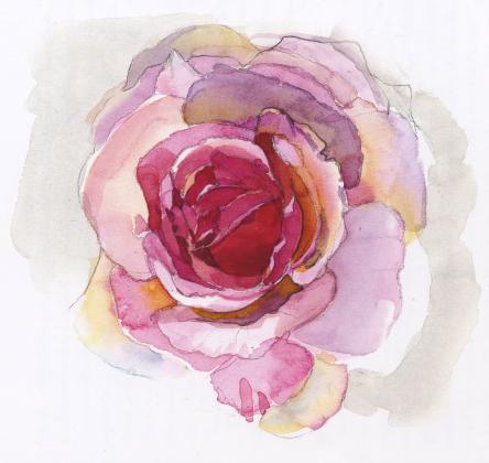 手绘花素材——淘宝装修素材——赢得网